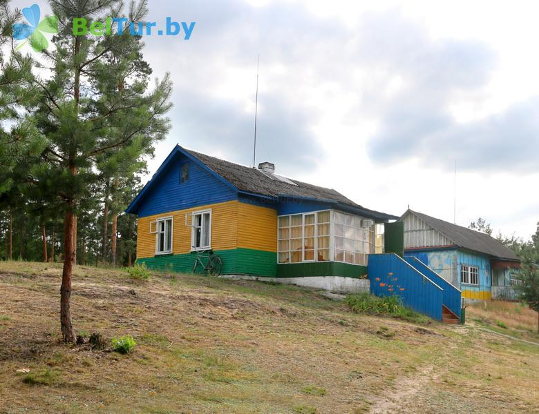 Отдых в Белоруссии Беларуси - туристический комплекс Белое - администр. корпус