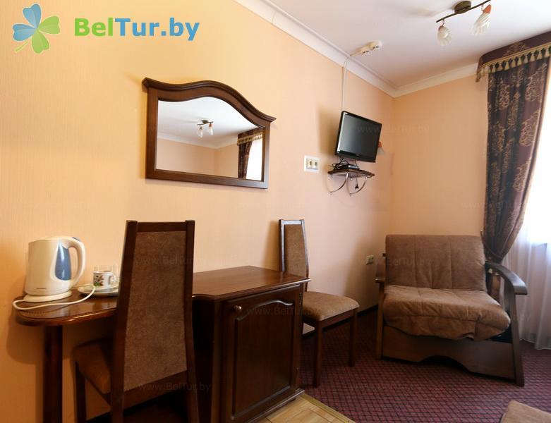 Отдых в Белоруссии Беларуси - туристический комплекс Белое - одноместный однокомнатный (корпус №1)