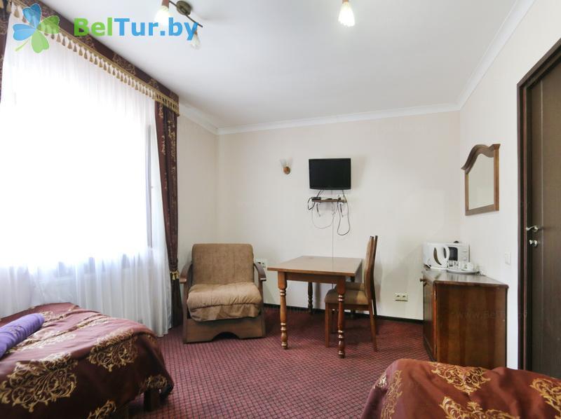 Отдых в Белоруссии Беларуси - туристический комплекс Белое - двухместный однокомнатный №4,5 (корпус №1)