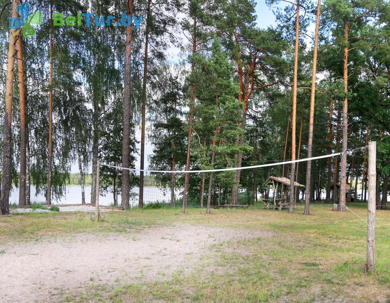 Отдых в Белоруссии Беларуси - туристический комплекс Белое - Спортплощадка