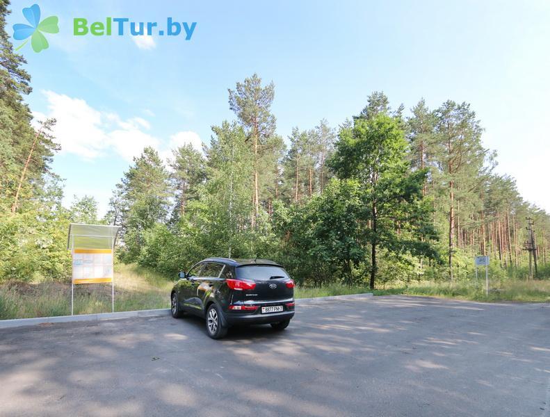 Отдых в Белоруссии Беларуси - туристический комплекс Белое - Парковка