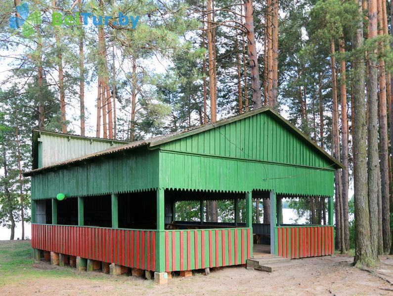 Отдых в Белоруссии Беларуси - туристический комплекс Белое - Танцплощадка летняя