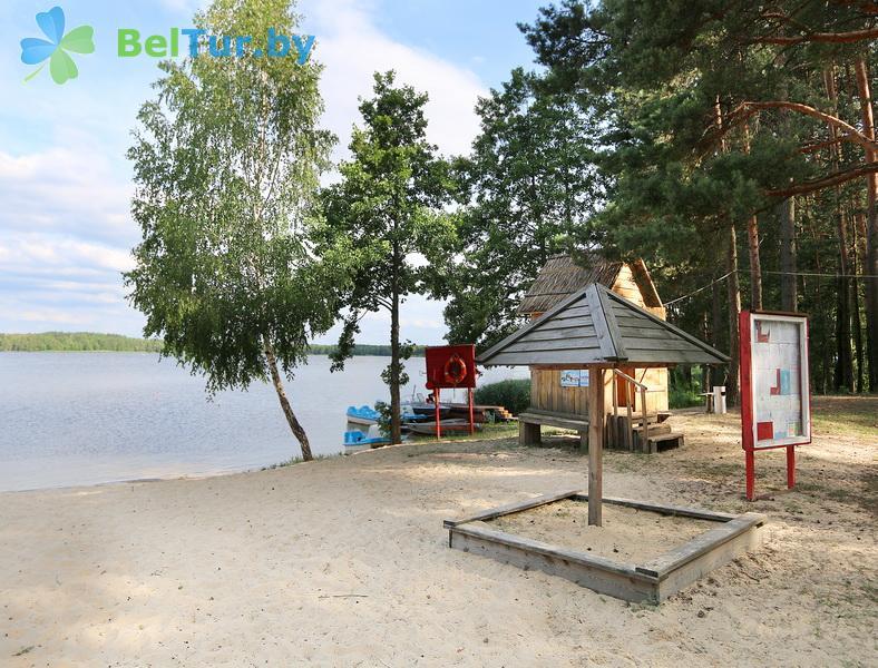 Отдых в Белоруссии Беларуси - туристический комплекс Белое - Детская площадка