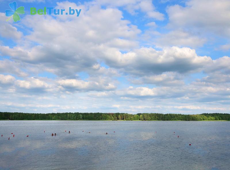 Отдых в Белоруссии Беларуси - туристический комплекс Белое - Водоём