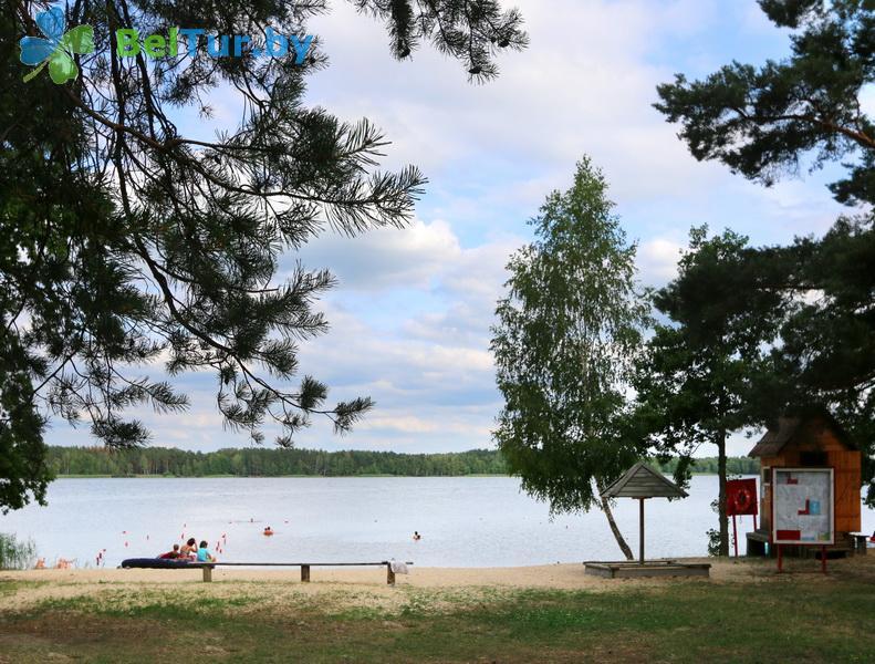 Отдых в Белоруссии Беларуси - туристический комплекс Белое - Пляж