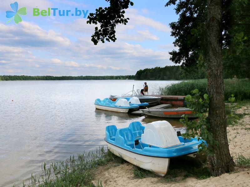 Отдых в Белоруссии Беларуси - туристический комплекс Белое - Прокат лодок