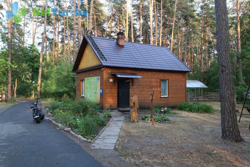 Отдых в Белоруссии Беларуси - гостиничный комплекс Ранчо - администр. корпус