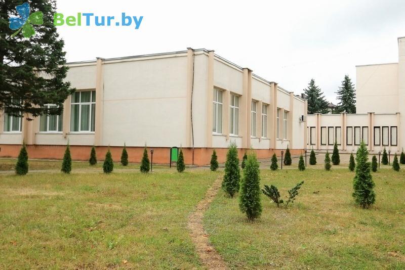 Отдых в Белоруссии Беларуси - туристический комплекс Пышки - столовая