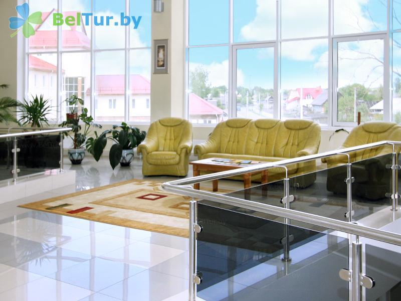 Отдых в Белоруссии Беларуси - гостиничный комплекс Над Припятью - Регистратура