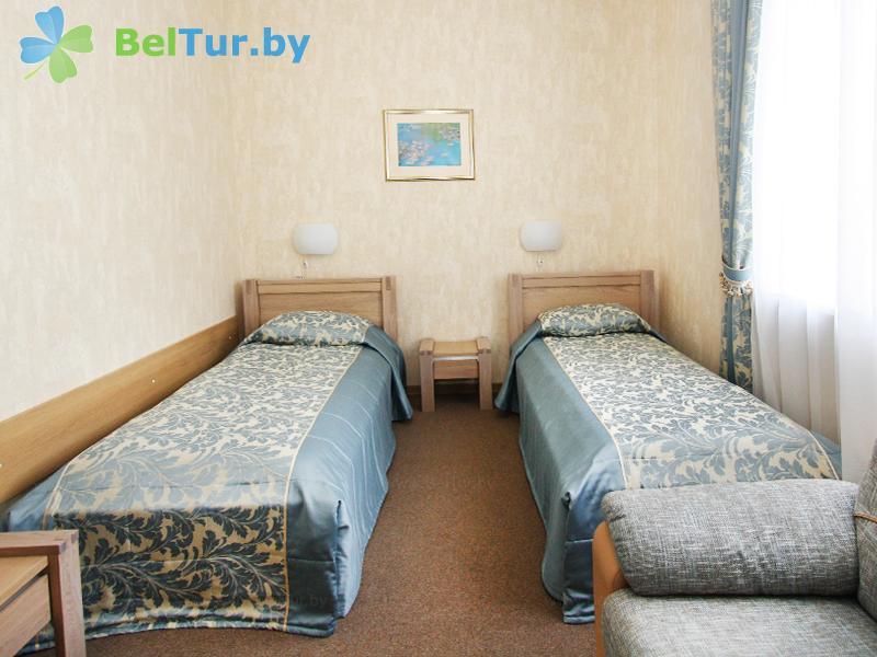 Отдых в Белоруссии Беларуси - гостиничный комплекс Над Припятью - двухместный однокомнатный стандарт (гостиница)