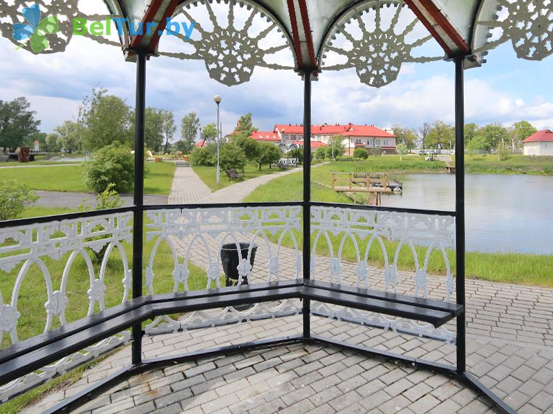 Отдых в Белоруссии Беларуси - гостиничный комплекс Над Припятью - Беседка