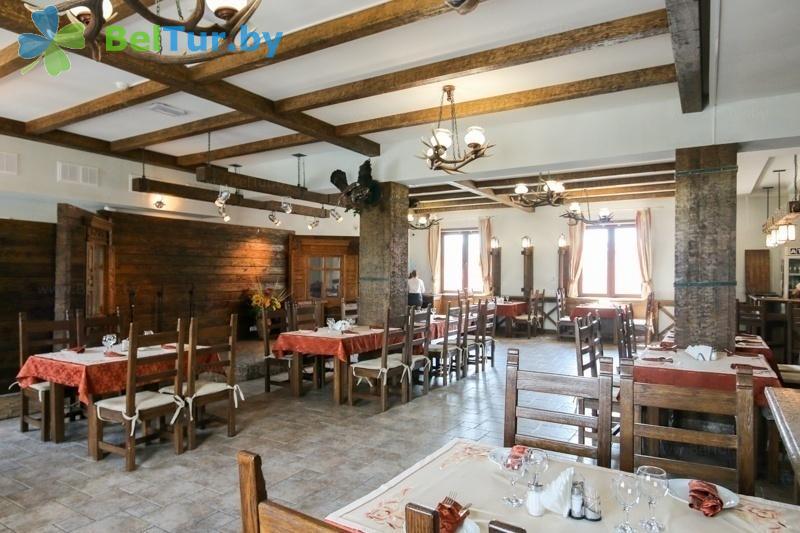 Отдых в Белоруссии Беларуси - гостиничный комплекс Над Припятью - Ресторан