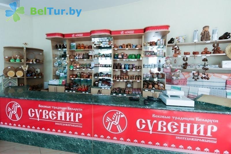 Отдых в Белоруссии Беларуси - гостиничный комплекс Над Припятью - Сувенирный киоск