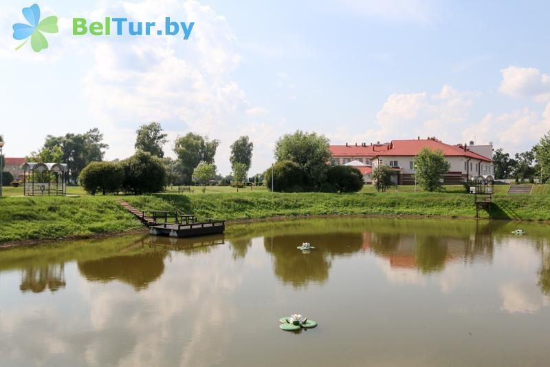 Отдых в Белоруссии Беларуси - гостиничный комплекс Над Припятью - Рыбалка