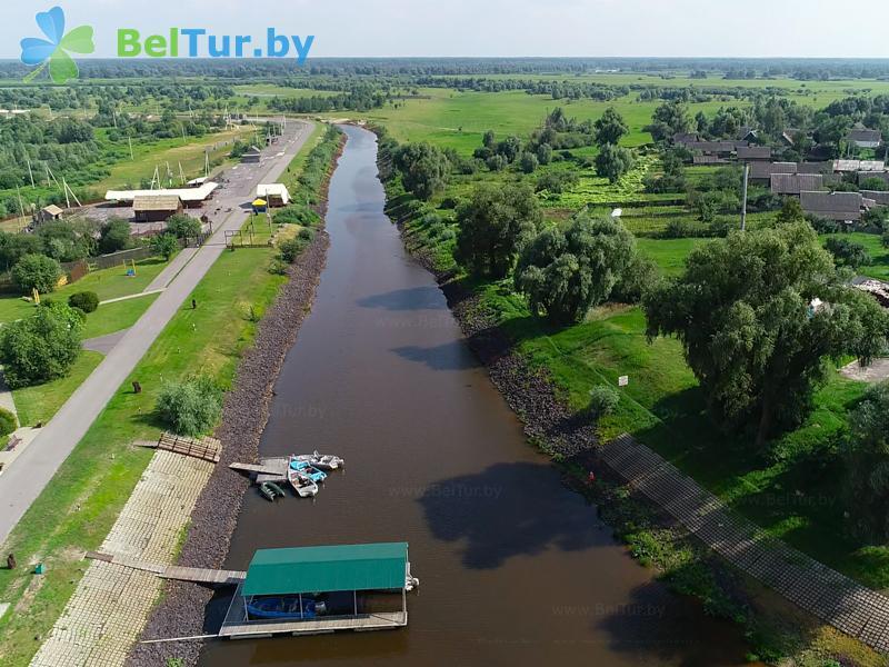 Отдых в Белоруссии Беларуси - гостиничный комплекс Над Припятью - Водоём