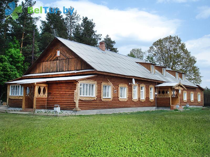 Отдых в Белоруссии Беларуси - туристический комплекс Старушки - административно-жилой корпус