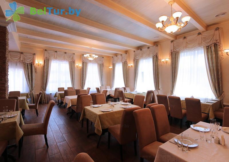 Отдых в Белоруссии Беларуси - туристический комплекс Николаевские пруды - Ресторан