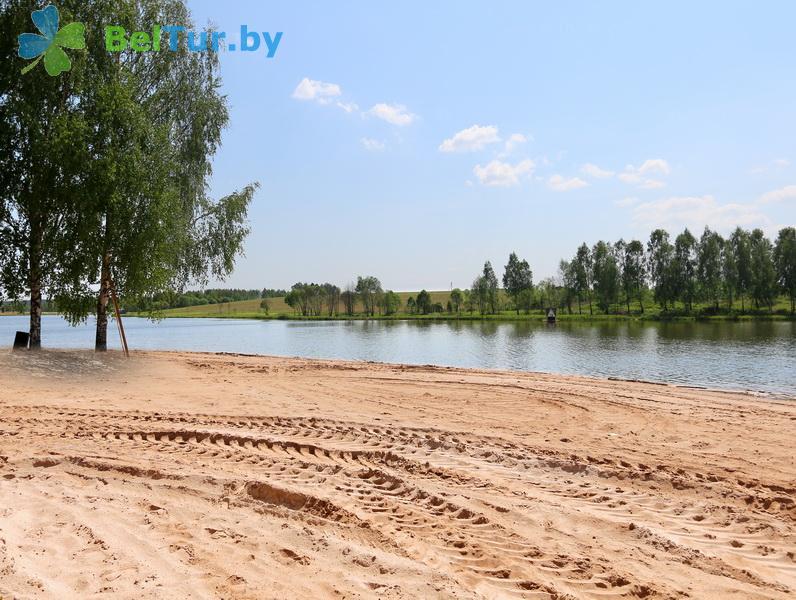 Адпачынак у Беларусі - турыстычны комплекс Мікалаеўскія пруды - Пляж