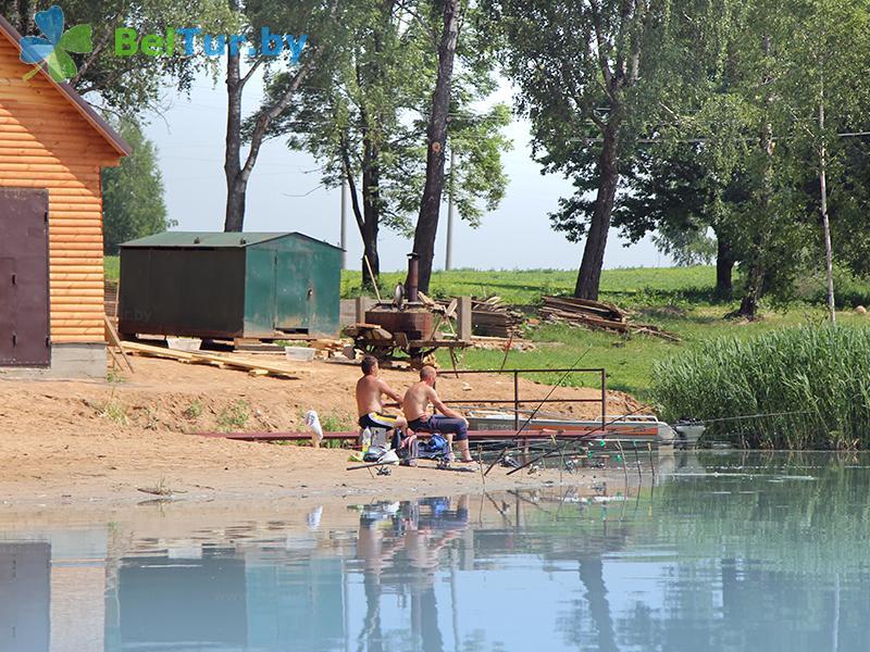 Адпачынак у Беларусі - турыстычны комплекс Мікалаеўскія пруды - Рыбалка