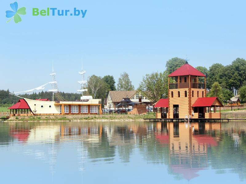Отдых в Белоруссии Беларуси - туристический комплекс Николаевские пруды - Водоём