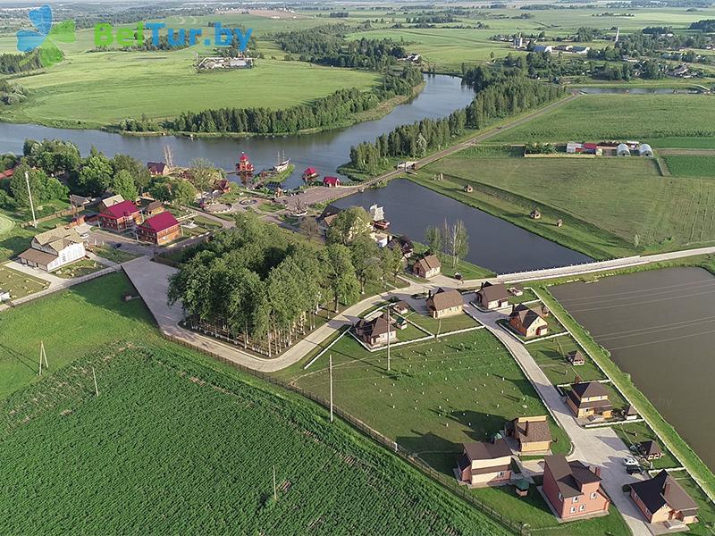 Отдых в Белоруссии Беларуси - туристический комплекс Николаевские пруды - Территория и природа
