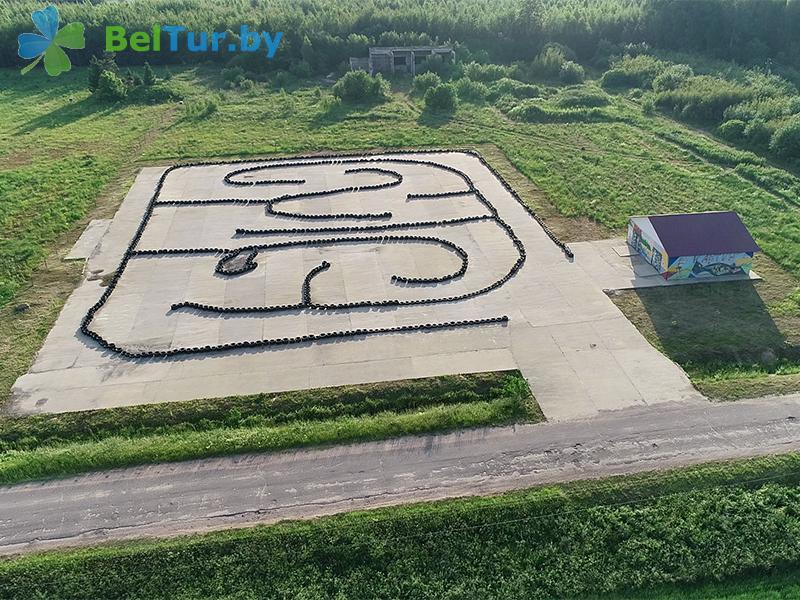 Отдых в Белоруссии Беларуси - туристический комплекс Николаевские пруды - Картодром