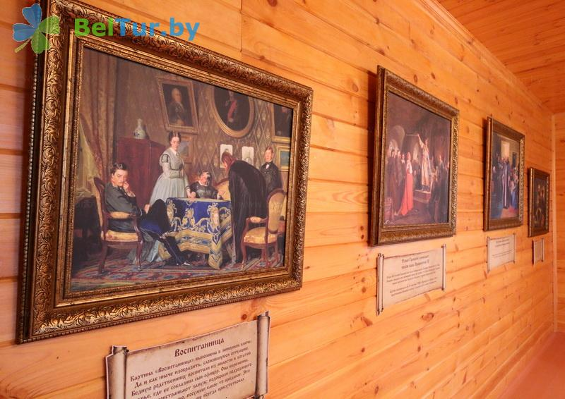 Отдых в Белоруссии Беларуси - туристический комплекс Николаевские пруды - Музей