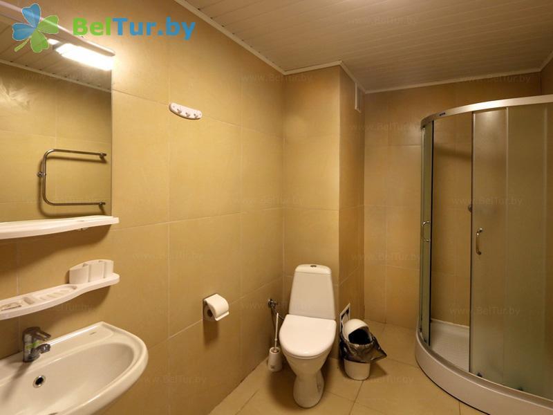Отдых в Белоруссии Беларуси - оздоровительный комплекс Чайка - двухместный однокомнатный «A» (спальный корпус №2)