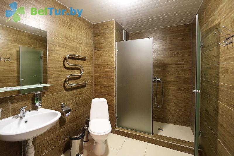 Отдых в Белоруссии Беларуси - оздоровительный комплекс Чайка - двухместный двухкомнатный улучшенный (спальный корпус №3)