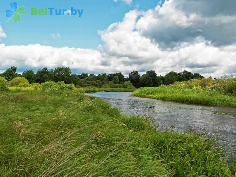 Отдых в Белоруссии Беларуси - дом охотника Белая тропа - Территория и природа