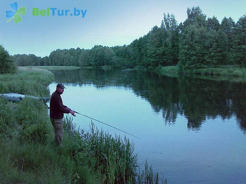 Отдых в Белоруссии Беларуси - дом охотника Белая тропа - Рыбалка