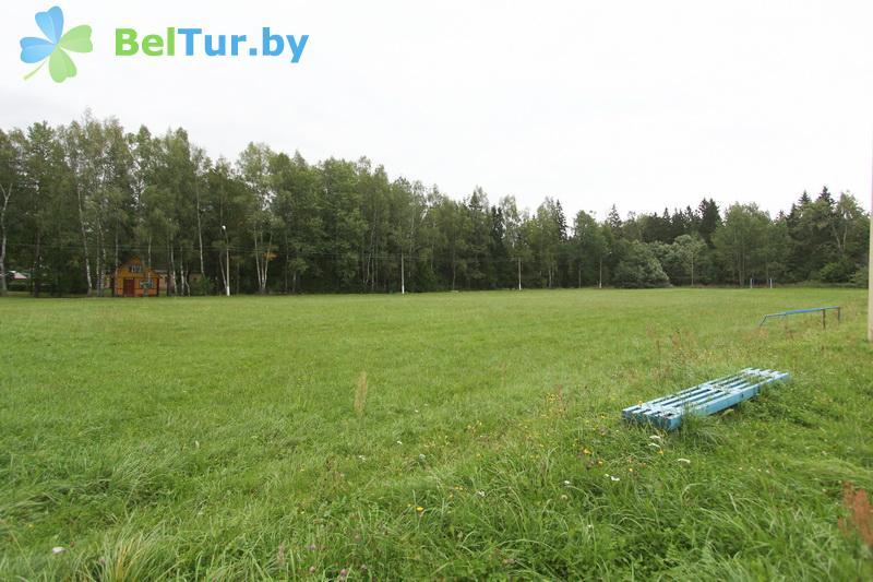 Отдых в Белоруссии Беларуси - база отдыха Лесная поляна - Спортплощадка