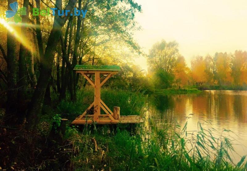 Отдых в Белоруссии Беларуси - база отдыха Лесная Гавань - Рыбалка