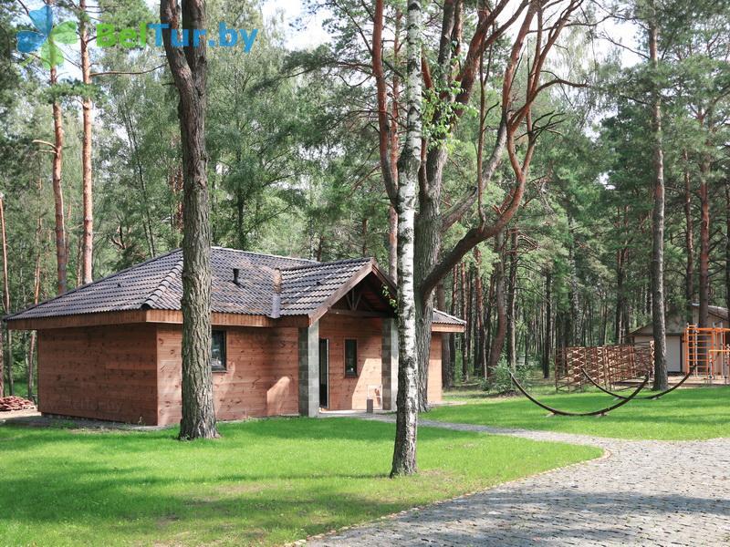 Отдых в Белоруссии Беларуси - база отдыха Лесная Гавань - бунгало №3