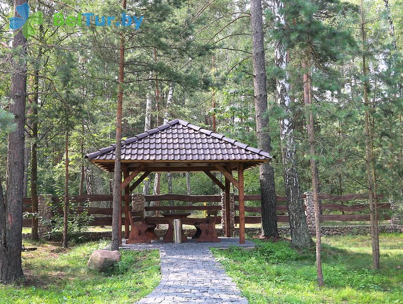 Отдых в Белоруссии Беларуси - база отдыха Лесная Гавань - Беседка
