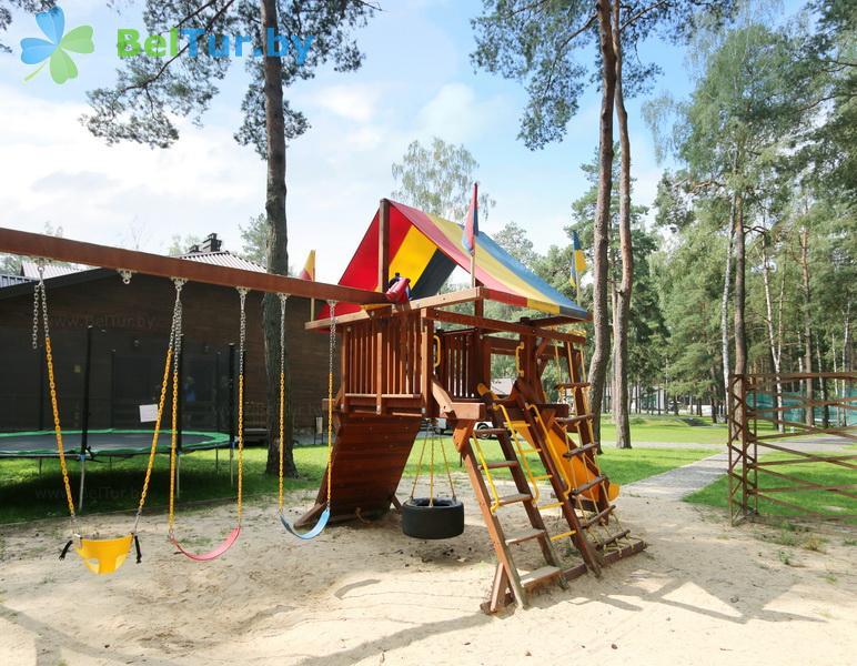 Отдых в Белоруссии Беларуси - база отдыха Лесная Гавань - Детская площадка
