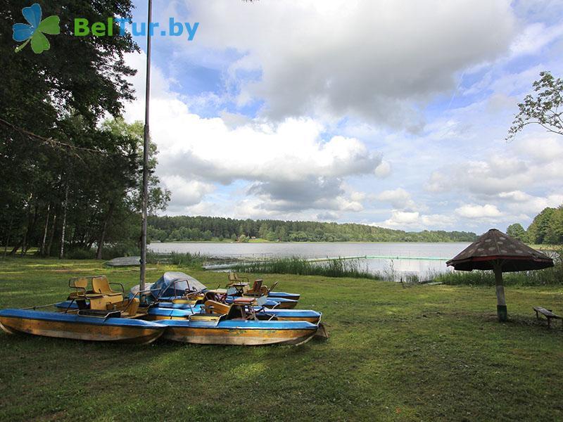 Отдых в Белоруссии Беларуси - база отдыха Яново - Прокат лодок