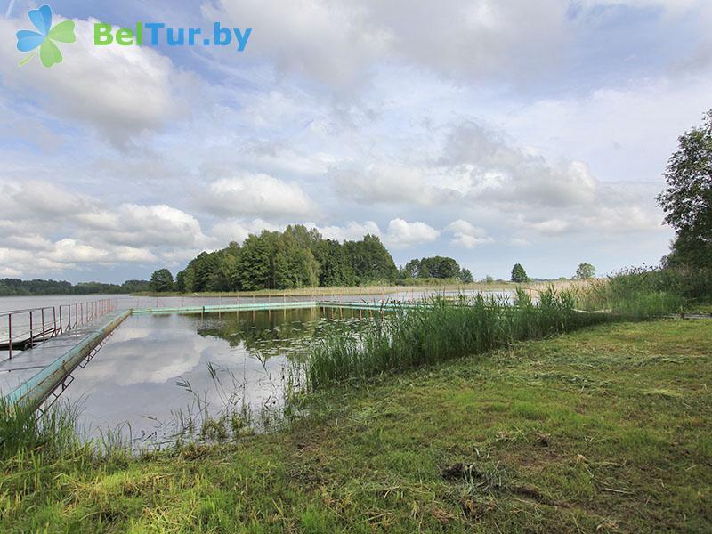 Отдых в Белоруссии Беларуси - база отдыха Яново - Пляж