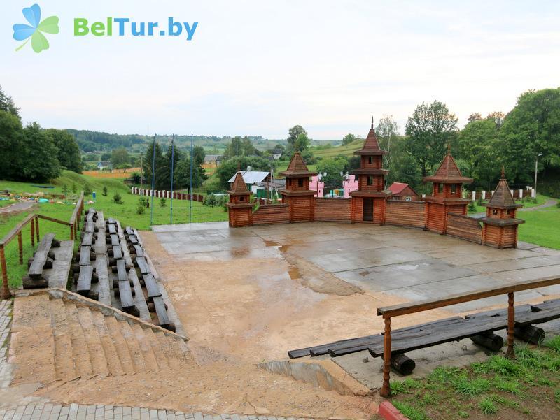 Отдых в Белоруссии Беларуси - база отдыха Семигорье - Территория и природа