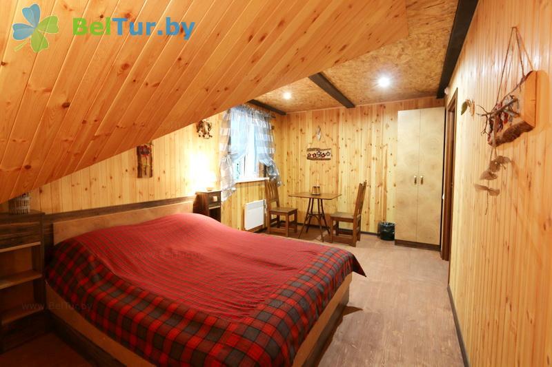 Отдых в Белоруссии Беларуси - дом отдыха Эридан - двухместный однокомнатный / с двуспальной кроватью (гостевой дом)