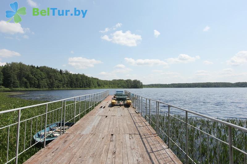 Отдых в Белоруссии Беларуси - база отдыха Бодрость - Водоём