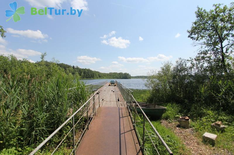 Отдых в Белоруссии Беларуси - база отдыха Бодрость - Территория и природа