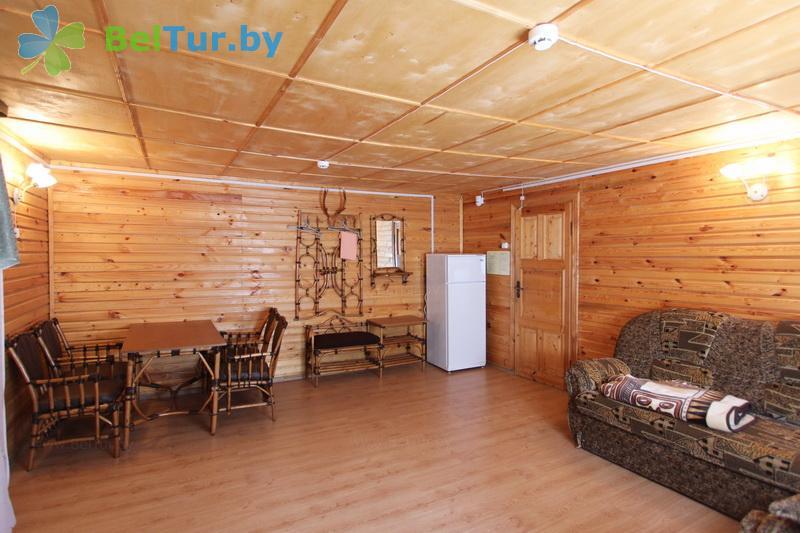 Отдых в Белоруссии Беларуси - база отдыха Бодрость - одноместный трехкомнатный люкс (корпус №1)