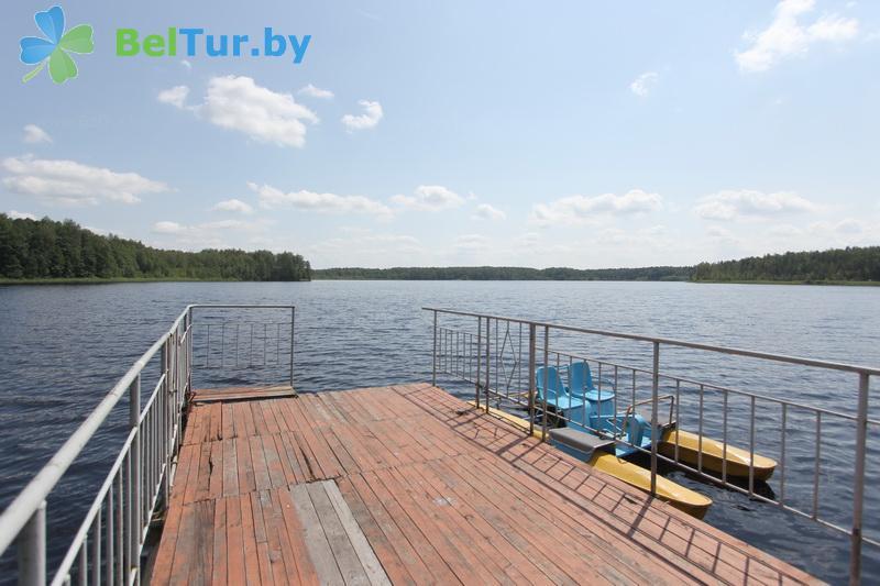 Отдых в Белоруссии Беларуси - база отдыха Бодрость - Прокат лодок