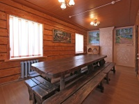 дом охотника Межно - Банкетный зал