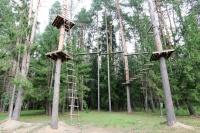 база отдыха Чайка (Борисов) - Веревочный городок