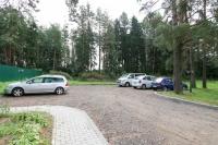 база отдыха Чайка (Борисов) - Парковка
