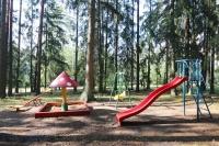база отдыха Сосновый берег - Детская площадка