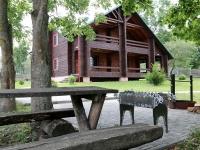 дом охотника Новогрудский - Площадка для шашлыков