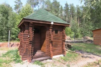 дом охотника Оршанский - Площадка для шашлыков